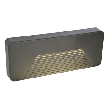 Breez Surface Brick/Guide 3W LED Light IP65 Anthracite With Slatted Diffuser - CZ-29192-ATR