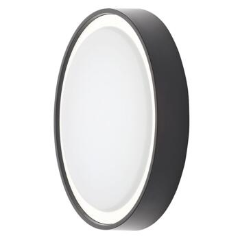 Single LED Coastal Outdoor Light Black finish - CZ-31745-BLK