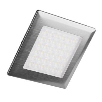 Alpha-S Square LED Under Cabinet Spot Light - Cool White 3 Light Kit Incl Driver