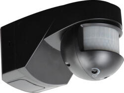 IP55 200° PIR Sensor - Black - OS001B