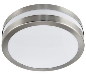 2 Light Outdoor Flush Ceiling Light Stainless Steel Finish - 2641-28