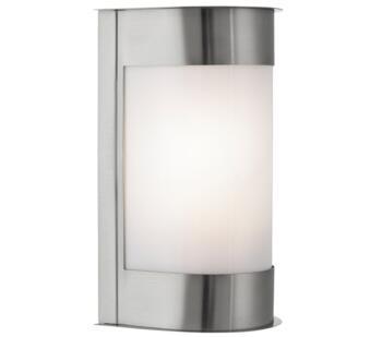 1 Light Outdoor Wall Light Stainless Steel Finish - 4126SS