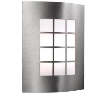 1 Light Outdoor Wall Light Stainless Steel Finish - 3140SS
