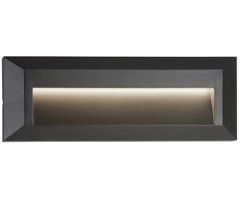 Outdoor LED Slot Wall/Ceiling Light Dark Grey Finish - 8732GY