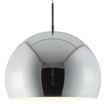 Ball Pendant Light Chrome Shade - Chrome 40mm Diameter