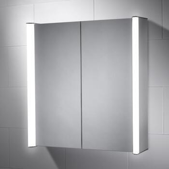 Aspen LED Illuminated Mirror Cabinet  700mm x 700mm - SE30816C0