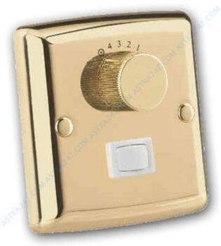Westinghouse Ceiling Fan Wall Control/Switch-Brass - Polished Brass