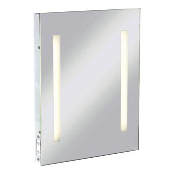 IP44 Mirror with Dual Voltage Shaver Socket 390mm x 500mm - RCTM2T8