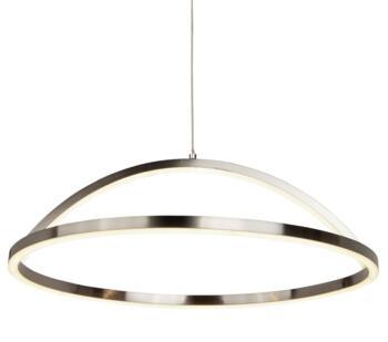 Satin Silver Magic LED Pendant  - 8541SS