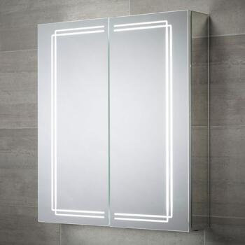 Harlow LED Illuminated Mirror Cabinet 700 x 600mm - SE31294C0