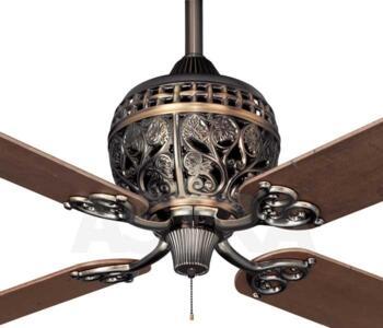 Hunter 1886 series ceiling fan amber bronze 52 amber bronze aloadofball Images