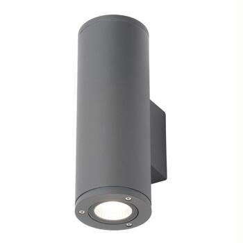 Anthracite IP54 Up/Down LED Wall Light - ZN-34019-ANTH