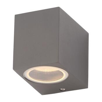 Fleet Single light Outdoor Wall Fitting In Anthracite Finish - ZN-31758-ANTH