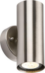Stainless Steel IP20 GU10 Up/Down Wall Light - NH0183BD