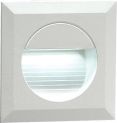 Matt White Square Recessed IP54 White LED Wall Light - NH019W