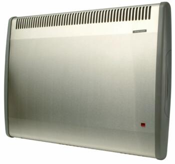 Consort PLST LST Wall Mounted Fan Heater - S/Steel - PLST150TISS 1.5kW + Thermostat and 24hr Timer