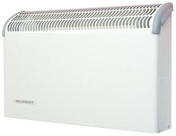 Consort CN LST Wall Mounted Fan Heater - White - 1kW Wireless