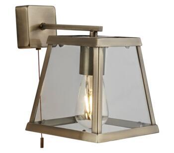 Antique Brass Wall Light - 4611AB