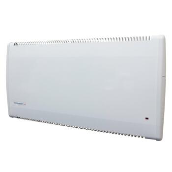 Consort LST Low Surface Temperature Electric Fan Heaters With Electronic Timer - 0.5kw White