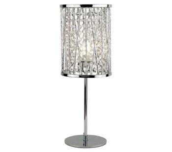 Chrome 1 Light Table Lamp - 8931CC