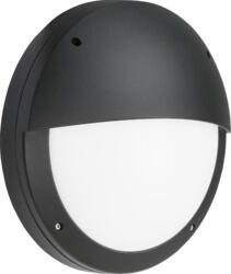 Black LED CCT Round Outdoor Eyelid Bulkhead  - Standard