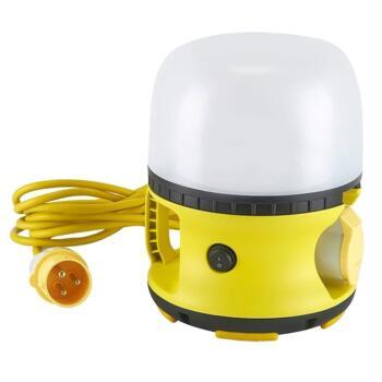 110v LED Globe Site Work Light & Socket - Standard