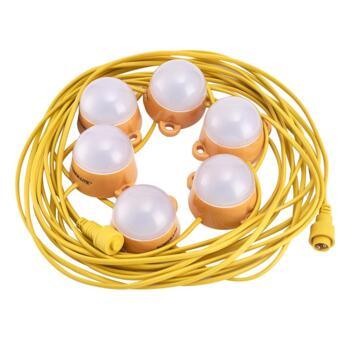 110v LED 6 Festoon Site String Lights - 110V Kit