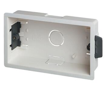 35mm Double Plasterboard Backbox - Double Backbox
