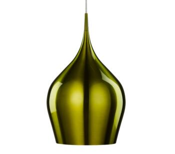 Green Vibrant 1 Light Ceiling Pendant Light - 6461-26GR