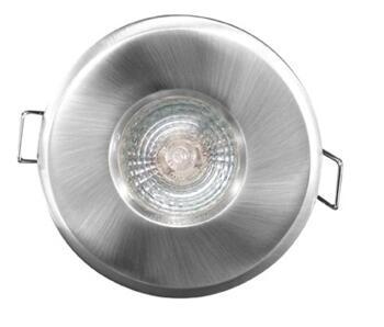 Shower Downlight Cast IP65 MR16 50W Low Voltage -  Satin Chrome