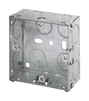 Grid Switch Backbox - 1 - 2 Gang
