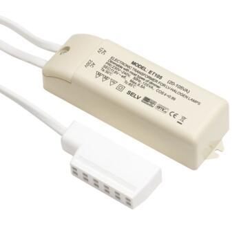 Electronic Lighting Transformer - X105-2M - 105VA - White