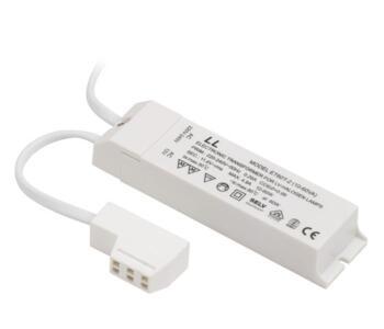Electronic Lighting Transformer - X60-1.5M - 60VA - White