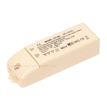 Electronic Lighting Transformer - X105TB - 105VA - White