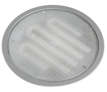 Mini-Circ Fully Recessed Undershelf Downlight - Satin Silver