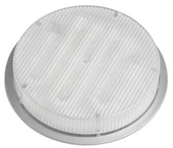 Mini-Circ Semi Recessed Undershelf Downlight - Satin Silver