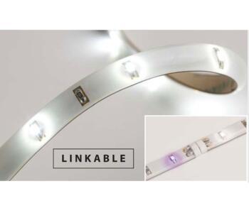 LED Flexible Strip - Single Colour - 12 LED Lights - Warm White LED