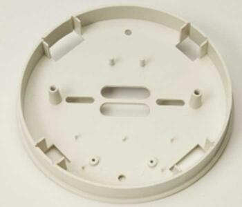 Surface Mounting Base for Smoke and Heat Alarms - White