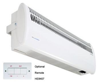 Consort Over Door Heater - Shop Air Curtain Single - 3kW - Commercial Heater