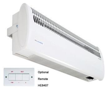 Consort Over Door Heater - Shop Air Curtain Single - 3kW - Commercial Heater