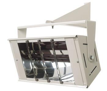 Consort Quartz Halogen Radiant Heater - Quartzzone - 1.5kW - Dove White Heater