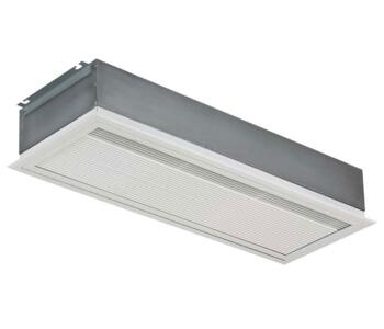 Consort Recessed Over Door Air Curtain Heater -Lge - 9kW Over Door Shop Heater