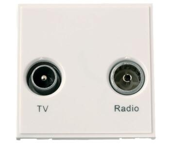 New Media Module - Diplexed TV & Radio Module - TV and Radio Module - Polar White