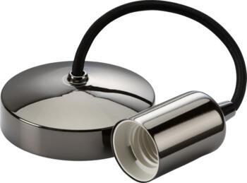 """Black Nickel 6"""" Contemporary Pendant Set - 8270BN"""