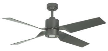 "Fantasia Tau Natural Iron Ceiling Fan With Light - 50"" - 115786"