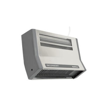 Consort Stainless Steel Electric Bathroom Heater - 2kW