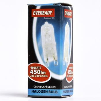 25W G9 Light Bulb Halogen 240v - Pack of 1