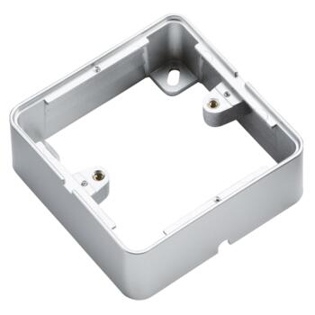 Matt Grey Surface Back Box - Single