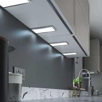 Neo LED Under Cabinet Light 4.8w - Cool white single light