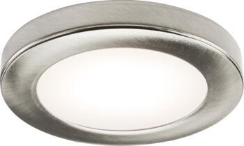 Brushed Chrome 2.5W LED Under Cabinet Light - Warm White Additional Head